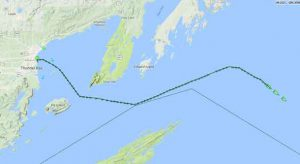 Three ships departed the Port of Thunder Bay this morning. CSL Thunder Bay, CSL Assiniboine, and the CSL Whitefish Bay.