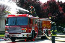 Stock image of a Fire Pumper Unit. Image Depositphotos.com