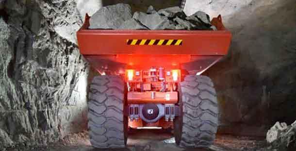 Underground Mining Truck