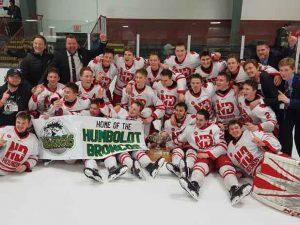 Notre Dame advances to TELUS Cup Canadian National Midget Championship, April 23-29, in Sudbury, Ont. Photo: Dennis Cook