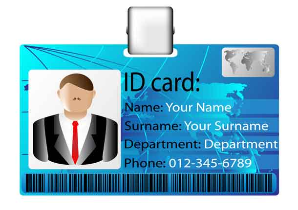 Business Security Card