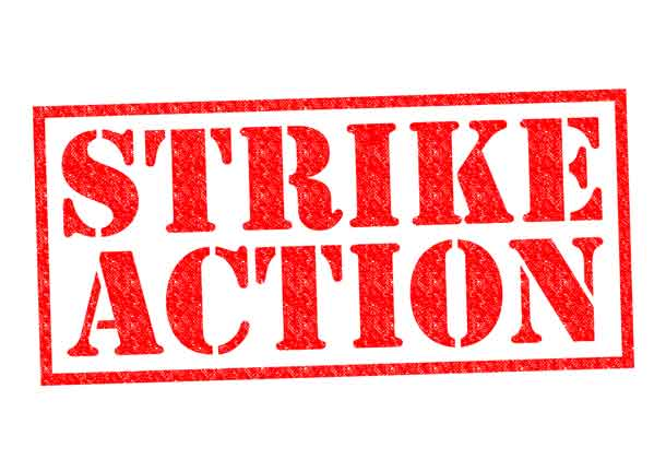 STRIKE ACTION - Image depositphotos.com