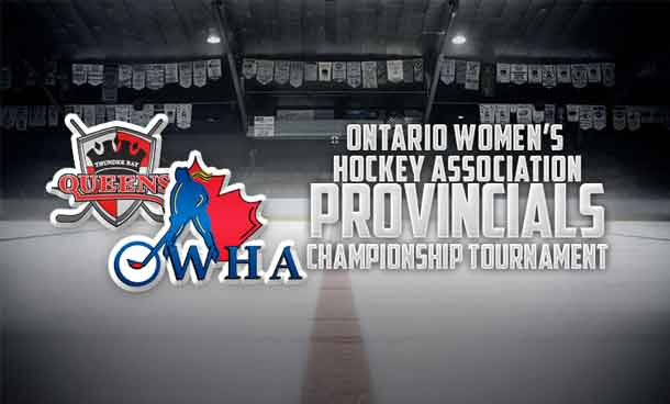 Thunder Bay AA Midget Queens at Provincial Championships