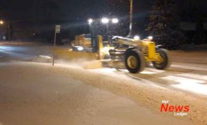 City of Thunder Bay Snow Clearing Crews have started clearing major streets