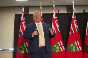 Doug Ford captivated his audience in Thunder Bay on Wednesday night