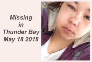 Thunder Bay Police image of missing woman
