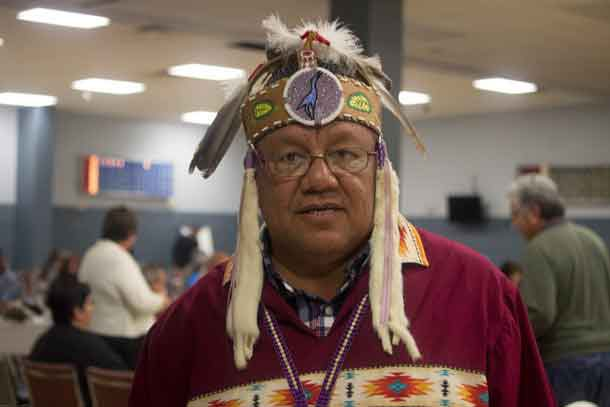 UOI Grand Council Chief Glen Hare