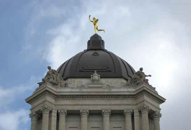 Golden Boy at the Manitoba Legislature