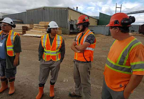 The Nakina Sawmill is expected to create 150 new jobs and another 150 woodland operation jobs, in addition to indirect employment.