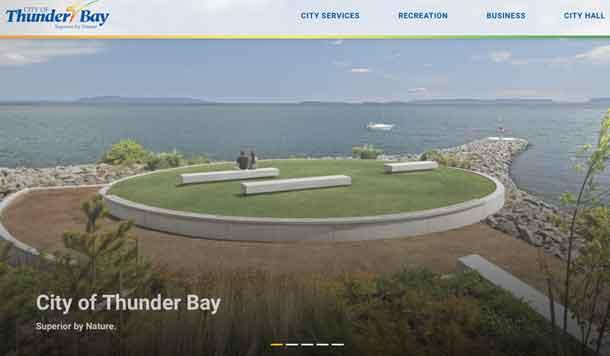 The City of Thunder Bay website