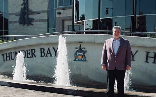 Stephen Margarit has entered the civic election campaign seeking a seat as Councillor at large