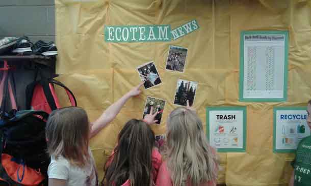 EcoSchool Certification comes about with help and effort from teachers, administrators and students