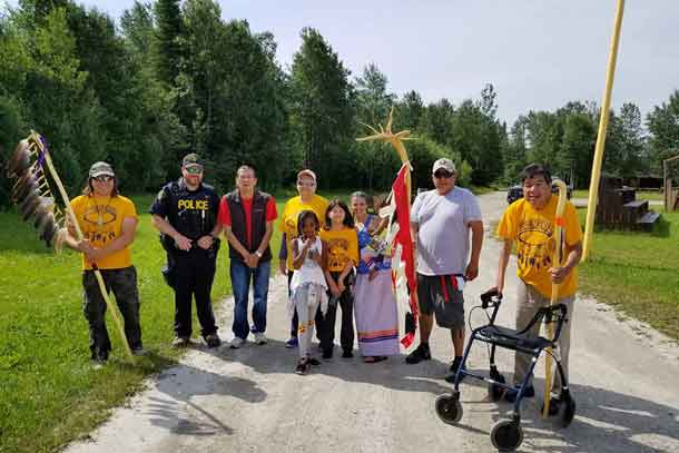 Long Lake #58 First Nation and Ginoogaming First Nation will be leading their annual healing walk in honor of people we have lost to Drugs/ Alcohol Addictions, Cancer, Missing Women/Men, Residential School/ Day School Survivors/ Decendants, Land, Water & Air, and Racism