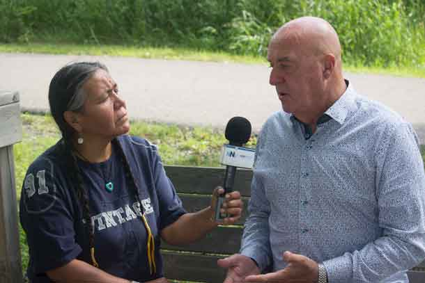 Thunder Bay Mayor Keith Hobbs talks about the Indigenous issues the city is working on with Amanda Perreault