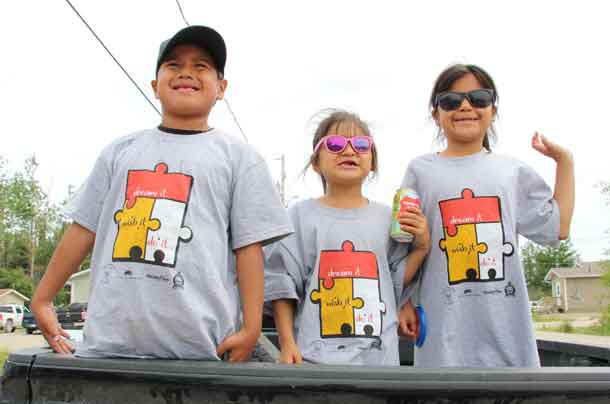 North Caribou Lake FN Youth - Photo Supplied