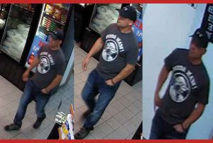 OPP Images of Theft Suspect in Nipigon