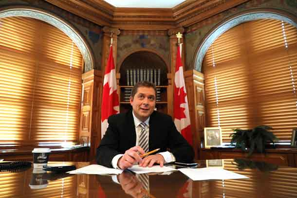 Andrew Scheer - Photo Andre Forget