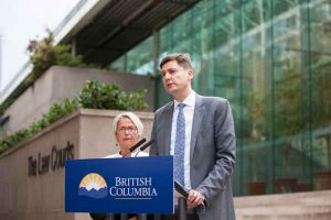 David EBY announces British Columbia is launching a Class Action Lawsuit against Opioid Manufacturers
