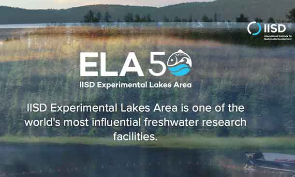 Experimental Lakes Area has received four years of funding.