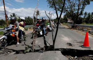 Indonesia sits on the Pacific Ring of Fire and is regularly hit by earthquakes. In 2004, the Indian Ocean tsunami killed 226,000 people in 13 countries, including more than 120,000 in Indonesia.