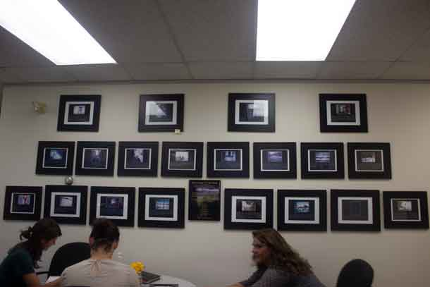 Picture Wall at Kinna-awey Legal Clinic