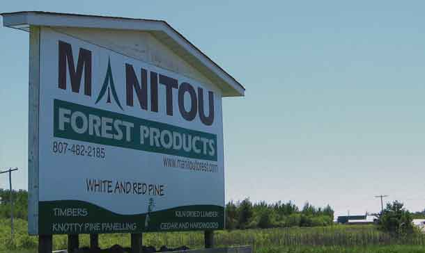 Manitou Forest Products