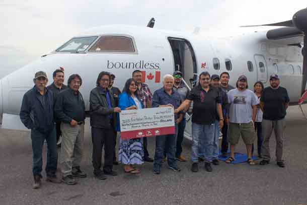 North Star Air and partner communities are celebrating $2.3 million in revenue sharing since 2014