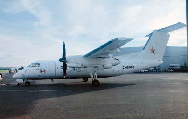 North Star Air Dash 8-100 Combi Aircraft