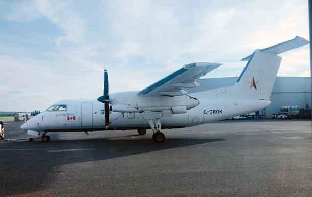 North Star Air Dash 8-100 Combi Aircraft