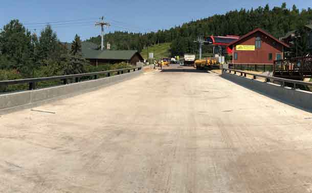 Lutsen Bridge Complete and Open to Traffic Ahead of Schedule