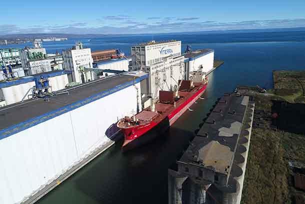 Port of Thunder Bay having a solid shipping season