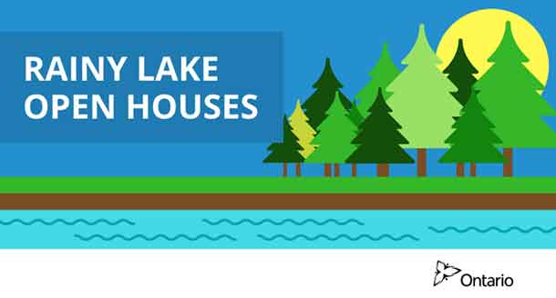 Rainy Lake Open House