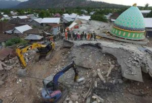Major 6.2 Aftershock jolts Indonesia as rescue and recovery efforts continue