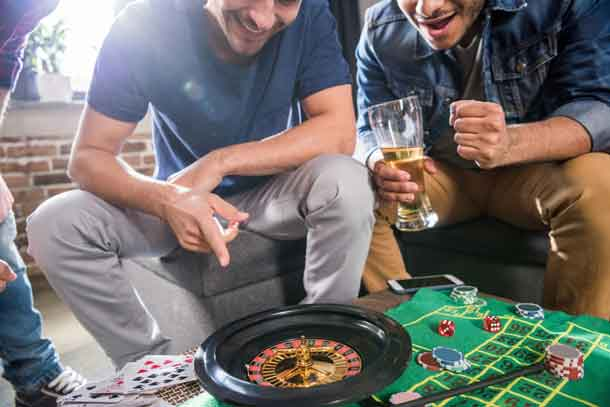A roulette wheel offers the easiest odds to understand, although these vary according to whether you are playing American or European roulette