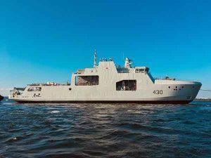 Canadian Navy's new Arctic Patrol ship