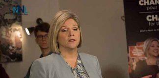 New Democrat leader Andrea Horwath