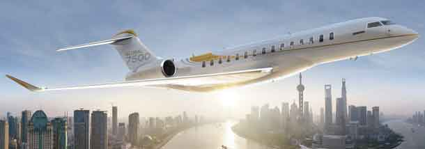 Bombardier 7500 Business Jet