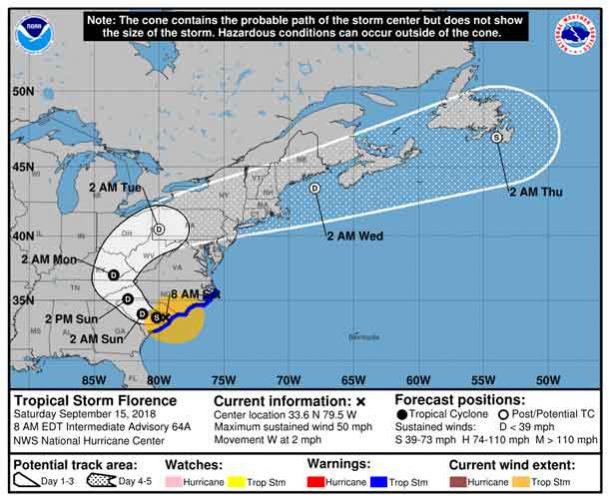 7 killed as hurricane Florence pummels Carolinas