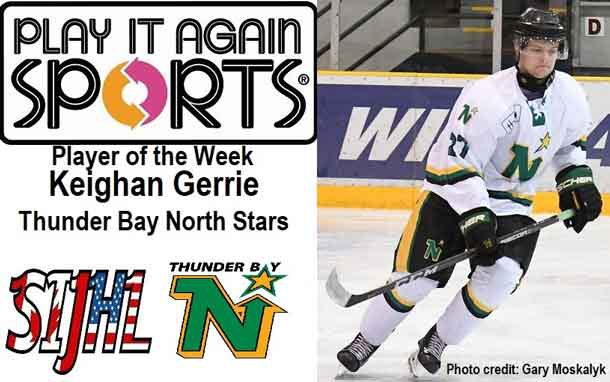 Netnewsledger North Stars Gerrie Named Sijhl Play It Again Sports