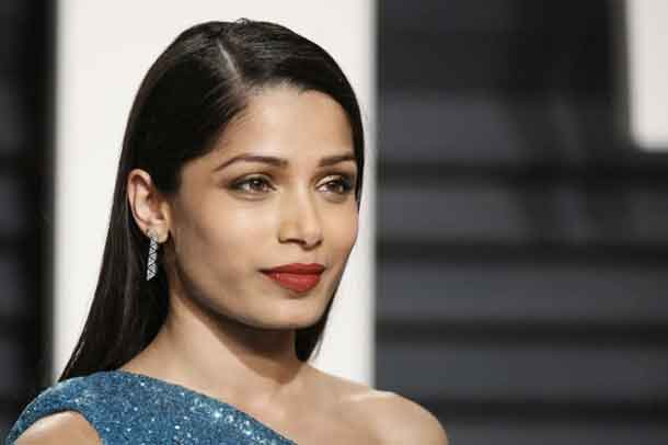 Actress Freida Pinto at the 89th Academy Awards, Oscars Vanity Fair Party, in Beverly Hills, California, United States, February 27, 2017. REUTERS/Danny Moloshok