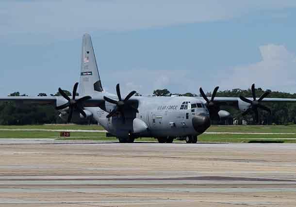 NetNewsLedger - United States Air Force Monitors Hurricane