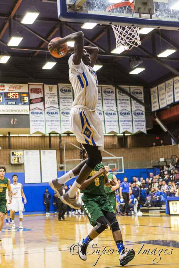 Photo Credit: Jarron Childs Lakehead University Mens Basketball
