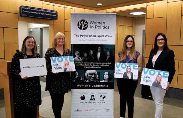 Women in Politics seeks to raise the profile of women candidates seeking political office