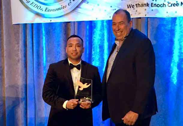 Jason Rasevych, a member of the Ginoogaming First Nation near Longlac, Ontario, has worked with various First Nations, and community economic development corporations.