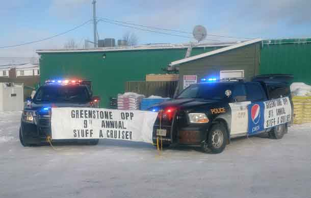 Greenstone OPP are Getting Ready for This Year's Stuff a Cruiser Event