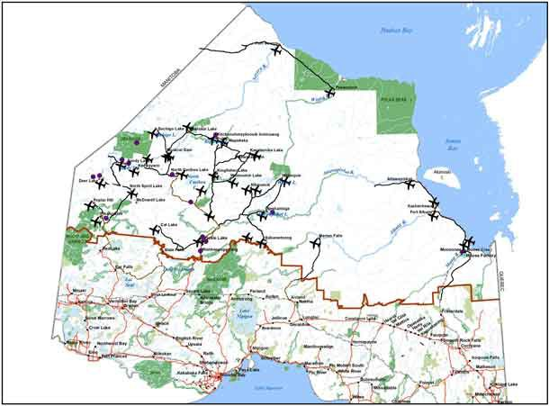 Ontario' Winter Roads Network
