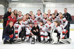 Sportop Midget AA Queens Take Gold and Con College Tournament
