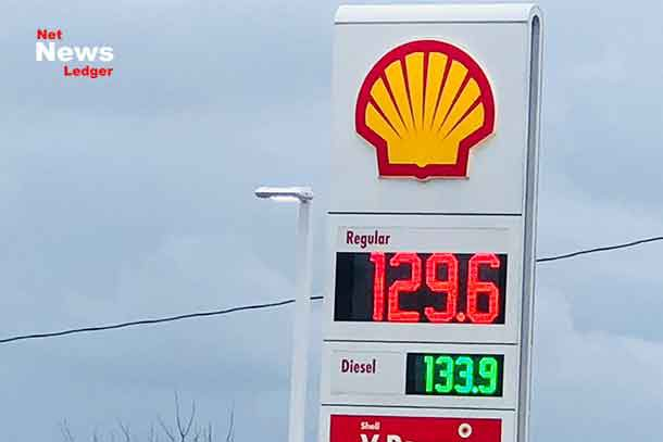 Gasoline Prices in Thunder Bay on December 5, 2018
