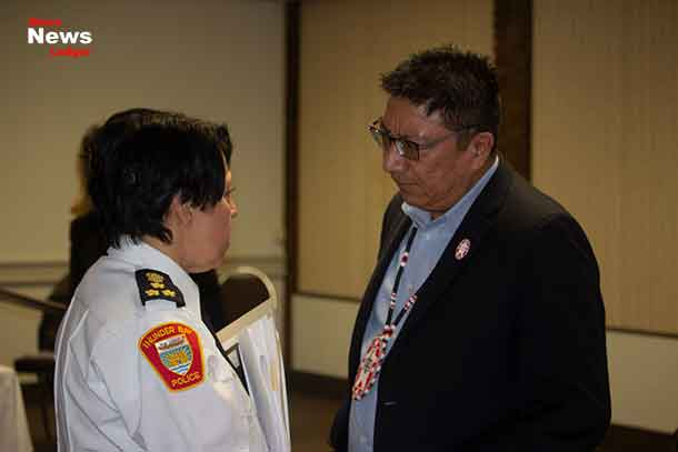 TBPS Chief Hauth and NAN Grand Chief Fiddler talk following the release of the OIRPD report Broken Trust