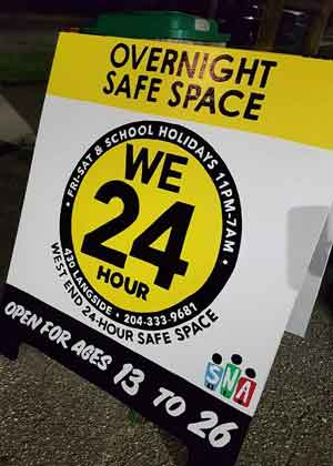WE24 will be open 24-hours a day until the end of March